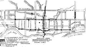 Toronto Subway Map Early Toronto Subway Proposals Transit Toronto Content