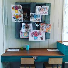 Kids Coloring Table Worth The Drive Amy U0027s Drive Thru Sonoma Sun Sonoma Ca