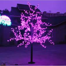 discount led light cherry artificial tree 2017 led light cherry