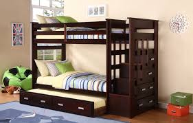 Bunk Beds With Stairs Brilliant Bunk Beds With Stairs And Trundle With Bunk Beds For