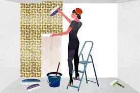 Hanging Pictures On Wall by How To Hang Non Woven Wallpaper Wallpapering Instructions