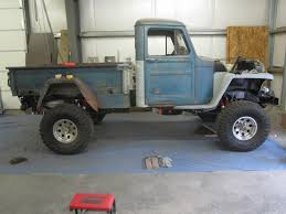 jeep willys truck lifted pivnic 1957 willys pickup specs photos modification info at