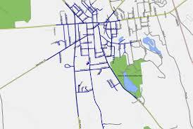 Malone Ny Map Transportation Malone Central District