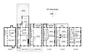 Brooklyn Brownstone Floor Plans Massive Greek Revival In Brooklyn Heights Has Potential Asks 6 5