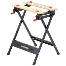 folding work table home depot black decker workmate 125 30 in folding portable workbench and vise