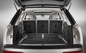 infiniti qx60 trunk space comparison audi q7 premium 2017 vs infiniti qx60 base 2017