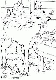 farm colouring pages image gallery farm coloring at animal