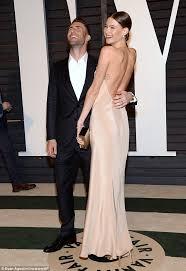 Vanity Fair Dubai Behati Prinsloo Laughs Off Nip Slip With Adam Levine At The Vanity