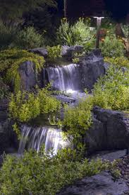 relaxing backyard waterfalls ideas rilane pictures on outstanding