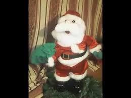Singing Stuffed Animals Santa Sings Santa Claus Is Coming To Town