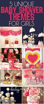 girl themes for baby shower unique and creative baby shower themes for play party
