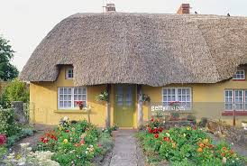 Thatched Cottage Ireland by Republic Of Ireland County Limerick Adare Thatched Cottage With
