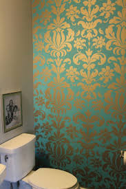 bathroom wallpaper ideas for bathroom 33 wallpaper ideas for bathroom wallpaper ideas for bathroom 33 wallpaper ideas for bathroom wallpaper eleonore teal and silver damask wallpaper two years later and i still love