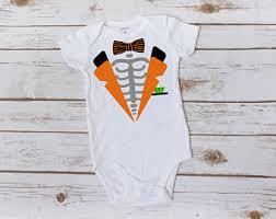 Boys Skeleton Halloween Costume Skeleton Costume Etsy