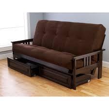 somette beli mont storage full size futon with suede mattress