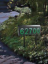 light up address sign solar address light light up address sign solutions beach