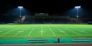 how tall are football stadium lights project showcase musco sports lighting