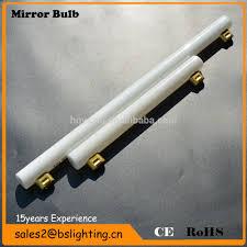 s14s 500ml glass tube bathroom led mirror light filament mirror