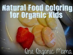one organic mama natural food coloring for organic kids