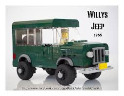 first willys jeep lego ideas willys jeep station wagon 1955