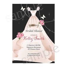 bridal shower invitation wedding shower invitation shabby chic