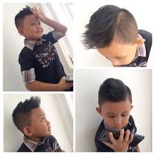 pompadour hair for kids rafa s messy pompadour hair style hair cuts pinterest