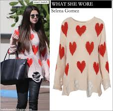 selena gomez sweater what she wore selena gomez in wildfox white knit sweater with