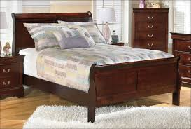 Leather Sleigh Bed Bedroom Marvelous Queen Sleigh Bed Frame Upholstered Headboard