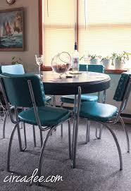 updated retro dinette set u2013 circa dee