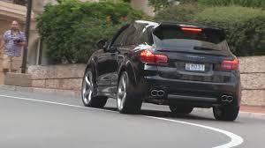 Porsche Cayenne Years - porsche cayenne techart magnum driving in monaco brutal sound