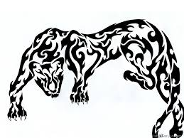 black panther tribal designs search ideas