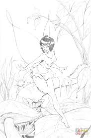 crysta fairy from ferngully coloring page free printable