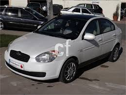 used hyundai accent cars spain