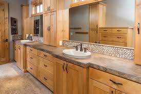 western bathroom designs brasada ranch home master bath suite view rustic bathroom
