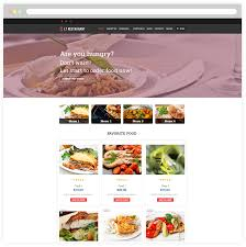 lt restaurant u2013 free responsive food order restaurant wordpress