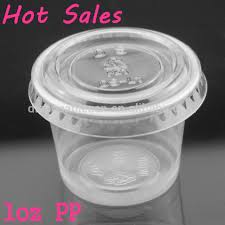 plastic cups with lids 1oz pp small plastic portion cup with flat lid buy pp sauce cups