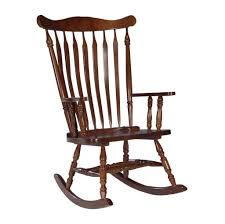 Wooden Rocking Chairs Nursery by Furniture Stylish Varnished Slat Wooden Rocking Chair Perfect For