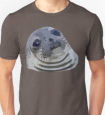 Awkward Seal Meme - awkward seal meme gifts merchandise redbubble