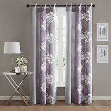 Grey And Purple Curtains Gray Grey Curtains Drapes Hsn