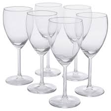 svalka white wine glass ikea