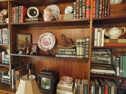 ash tree cottage arranging library shelves