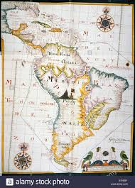 Map Of West Indies Map Of The West Indies And South America Journal Of A South Sea