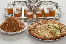id d o cuisine tradicional chá marroquino no id al fitr o fim do ramadã fotos do