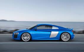 Audi R8 Blue - 2016 audi r8 blue speed 3 2560x1600 wallpaper