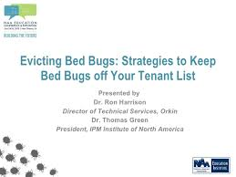 Orkin Bed Bug Spray Evicting Bed Bugs Strategies To Keep Bed Bugs Off Your Tenant List