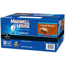 Blend K Cups Maxwell House Blend Medium Roast K Cups Coffee Pods 54 Count 16