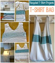 recycled t shirt projects for kids
