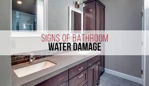paint or wallpaper signs of a hidden water leak in your bathroom mildew or mold