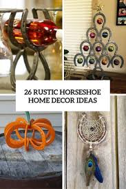crosses home decor 26 rustic horseshoe home décor ideas shelterness
