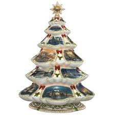 porcelain christmas tree with lights the terry redlin porcelain christmas tree the danbury mint